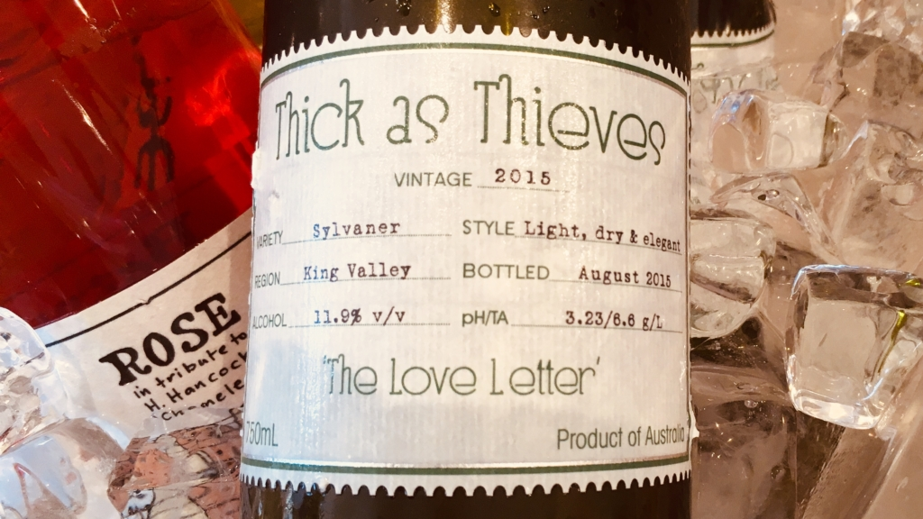 Thick as Thieves The Love Letter